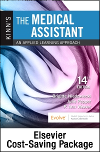 cover image - Kinn's The Medical Assistant - Text, Study Guide and Procedure Checklist Manual Package,14th Edition