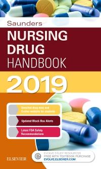 cover image - Saunders Nursing Drug Handbook 2019