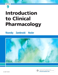 cover image - Evolve Resources for Introduction to Clinical Pharmacology,9th Edition