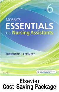 cover image - Mosby's Essentials for Nursing Assistants - Text, Workbook, and Clinical Skills package,6th Edition