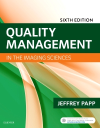 cover image - Evolve Resources for Quality Management in the Imaging Sciences,6th Edition