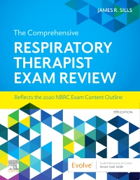 cover image - Evolve Exam Review for The Comprehensive Respiratory Therapist Exam Review,7th Edition
