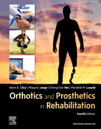 cover image - Orthotics and Prosthetics in Rehabilitation,4th Edition