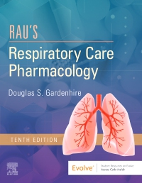 cover image - Evolve Resources for Rau's Respiratory Care Pharmacology,10th Edition