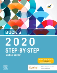 cover image - Buck's Step-by-Step Medical Coding, 2020 Edition