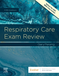 cover image - Respiratory Care Exam Review Elsevier eBook on VitalSource,5th Edition