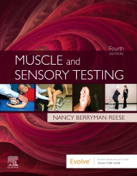 cover image - Evolve Resources for Muscle and Sensory Testing,4th Edition