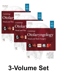 cover image - Cummings Otolaryngology,7th Edition