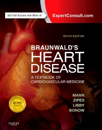 cover image - Braunwald's Heart Disease Elsevier eBook on VitalSource,10th Edition