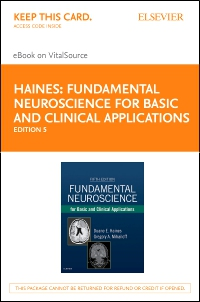 cover image - Fundamental Neuroscience for Basic and Clinical Applications - Elsevier eBook on VitalSource (Retail Access Card),5th Edition