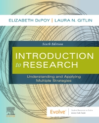 cover image - Introduction to Research Elsevier eBook on VitalSource,6th Edition