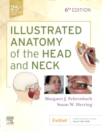 cover image - Illustrated Anatomy of the Head and Neck Elsevier eBook on VitalSource,6th Edition