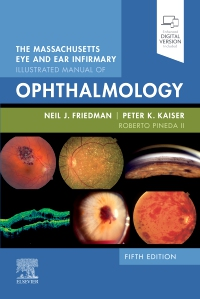 cover image - The Massachusetts Eye and Ear Infirmary Illustrated Manual of Ophthalmology - Elsevier eBook on VitalSource,5th Edition