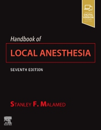 cover image - Handbook of Local Anesthesia Elsevier eBook on Vitalsource,7th Edition