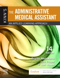 cover image - Kinn's the Administrative Medical Assistant - Elsevier eBook on VitalSource,14th Edition