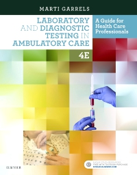 cover image - Evolve Resources for Laboratory and Diagnostic Testing in Ambulatory Care,4th Edition