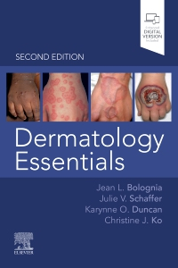 cover image - Dermatology Essentials Elsevier eBook on VitalSource,2nd Edition