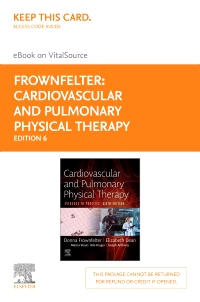 cover image - Cardiovascular and Pulmonary Physical Therapy Elsevier eBook on VitalSource (Retail Access Card),6th Edition
