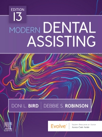 cover image - Modern Dental Assisting,13th Edition