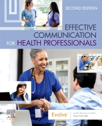 cover image - Effective Communication for Health Professionals,2nd Edition