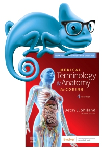 cover image - Elsevier Adaptive Learning for Medical Terminology & Anatomy for Coding-eCommerce Version,4th Edition