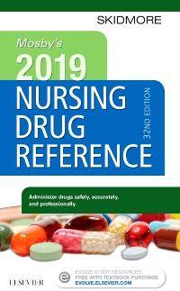 cover image - Mosby's 2019 Nursing Drug Reference - Elsevier eBook on VitalSource,32nd Edition