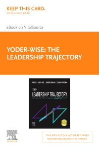 cover image - The Leadership Trajectory Elsevier eBook on VitalSource (Retail Access Card)