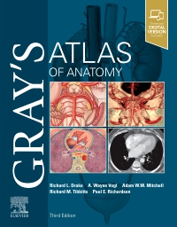 cover image - Gray's Atlas of Anatomy Elsevier eBook on VitalSource,3rd Edition