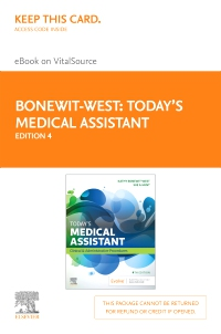 cover image - Today's Medical Assistant - Elsevier eBook on VitalSource (Retail Access Card),4th Edition