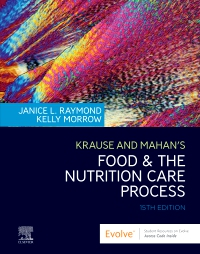 cover image - Krause and Mahan's Food and the Nutrition Care Process Elsevier eBook on VitalSource,15th Edition