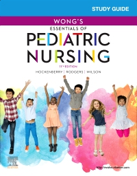 cover image - Study Guide for Wong's Essentials of Pediatric Nursing,11th Edition