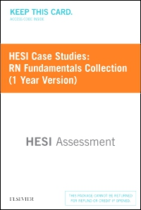 cover image - HESI Case Studies: RN Fundamentals Collection (1 Year Version) - Classic Version