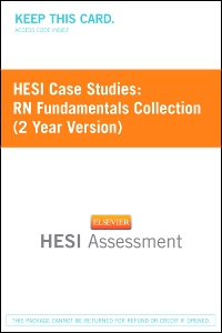 cover image - HESI Case Studies: RN Fundamentals Collection (2 Year Version) - Classic Version