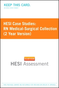 cover image - HESI Case Studies: RN Medical-Surgical Collection (2 Year Version) - Classic Version