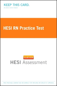 cover image - HESI RN Practice Test - Classic Version,2nd Edition