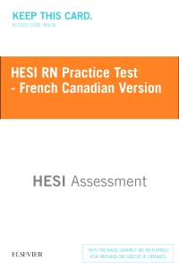 cover image - HESI RN Practice Test - French Canadian Version - Classic Version