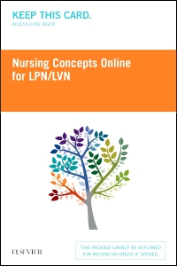 cover image - PROP - Nursing Concepts Online for LPN/LVN (18 month) - Access Card