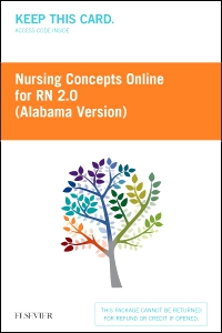 cover image - Nursing Concepts Online for RN 2.0: Alabama Version - Classic Version,2nd Edition