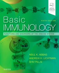cover image - Evolve Resources for Basic Immunology,6th Edition