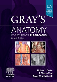 cover image - Gray's Anatomy for Students Flash Cards,4th Edition