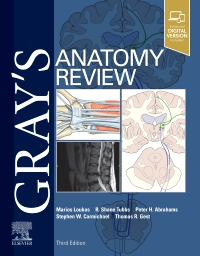 cover image - Gray's Anatomy Review Elsevier eBook on VitalSource,3rd Edition