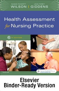 cover image - Health Assessment for Nursing Practice - Binder Ready,6th Edition