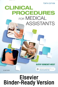 cover image - Clinical Procedures for Medical Assistants - Binder Ready,10th Edition