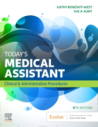 cover image - Evolve Resources with TEACH IRM for Today's Medical Assistant,4th Edition
