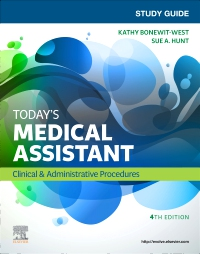 cover image - Study Guide for Today's Medical Assistant,4th Edition