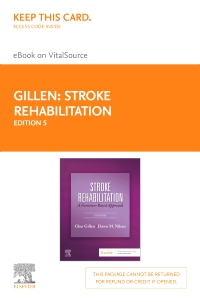 cover image - Stroke Rehabilitation Elsevier eBook on VitalSource (Retail Access Card),5th Edition
