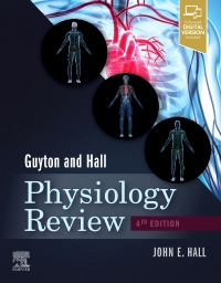 cover image - Guyton & Hall Physiology Review Elsevier eBook on VitalSource,4th Edition