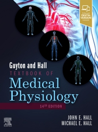 cover image - Guyton and Hall Textbook of Medical Physiology Elsevier eBook on VitalSource,14th Edition