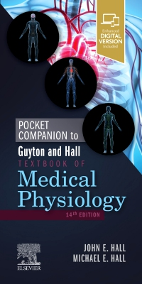 cover image - Pocket Companion to Guyton and Hall Textbook of Medical Physiology Elsevier eBook on VitalSource,14th Edition