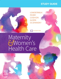 cover image - Study Guide for Maternity & Women's Health Care Elsevier eBook on VitalSource,12th Edition